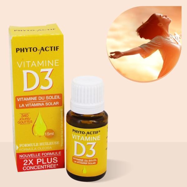 Vitamine D3 naturelle concentrée - 15ml