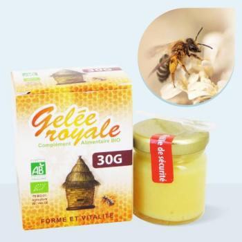 Gelée Royale pure bio - 1000 mg Pot de 30g