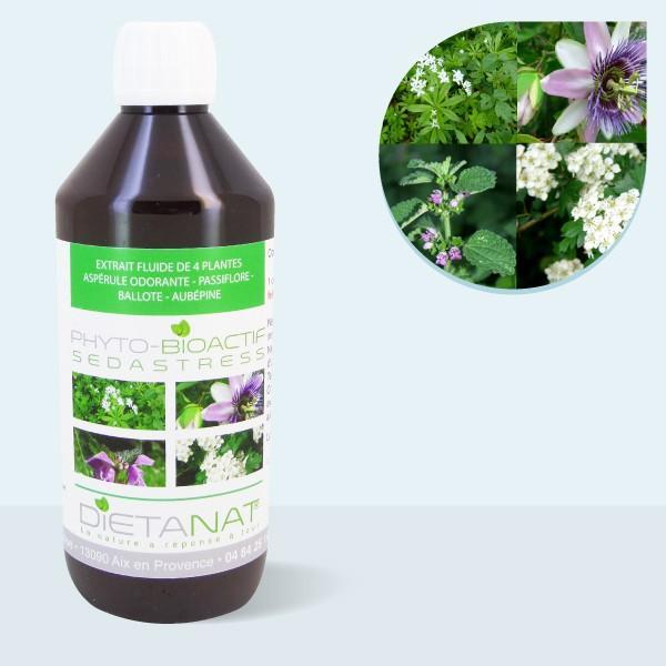 Complexe SedaStress bio ® - 500ml Extrait de plantes fraiches
