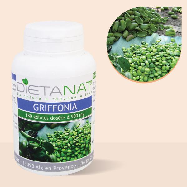 Griffonia simplicifolia 5-HTP - 180 Gélules de plantes 500mg