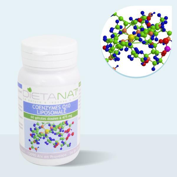 Co-Enzymes liposomale Q10 (Co-Q10) - 60 gélules végétales 475mg