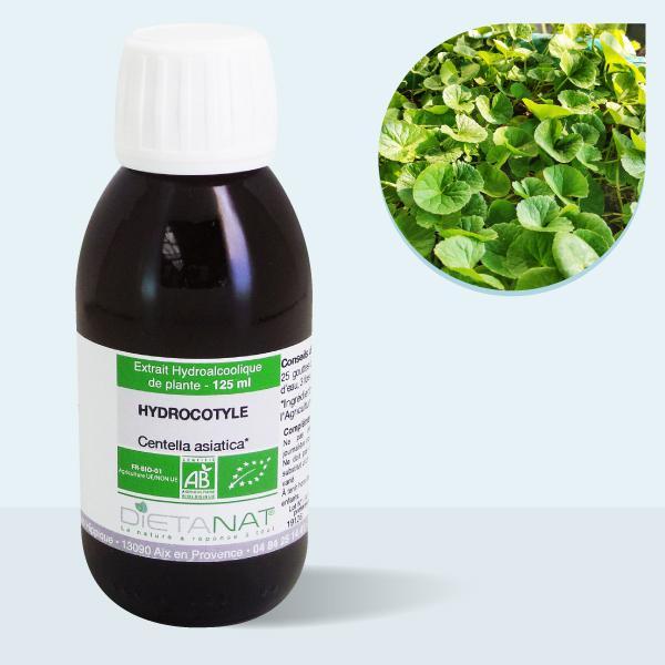 Centella asiatica Hydrocotyle bio - 125ml Teinture mère bio