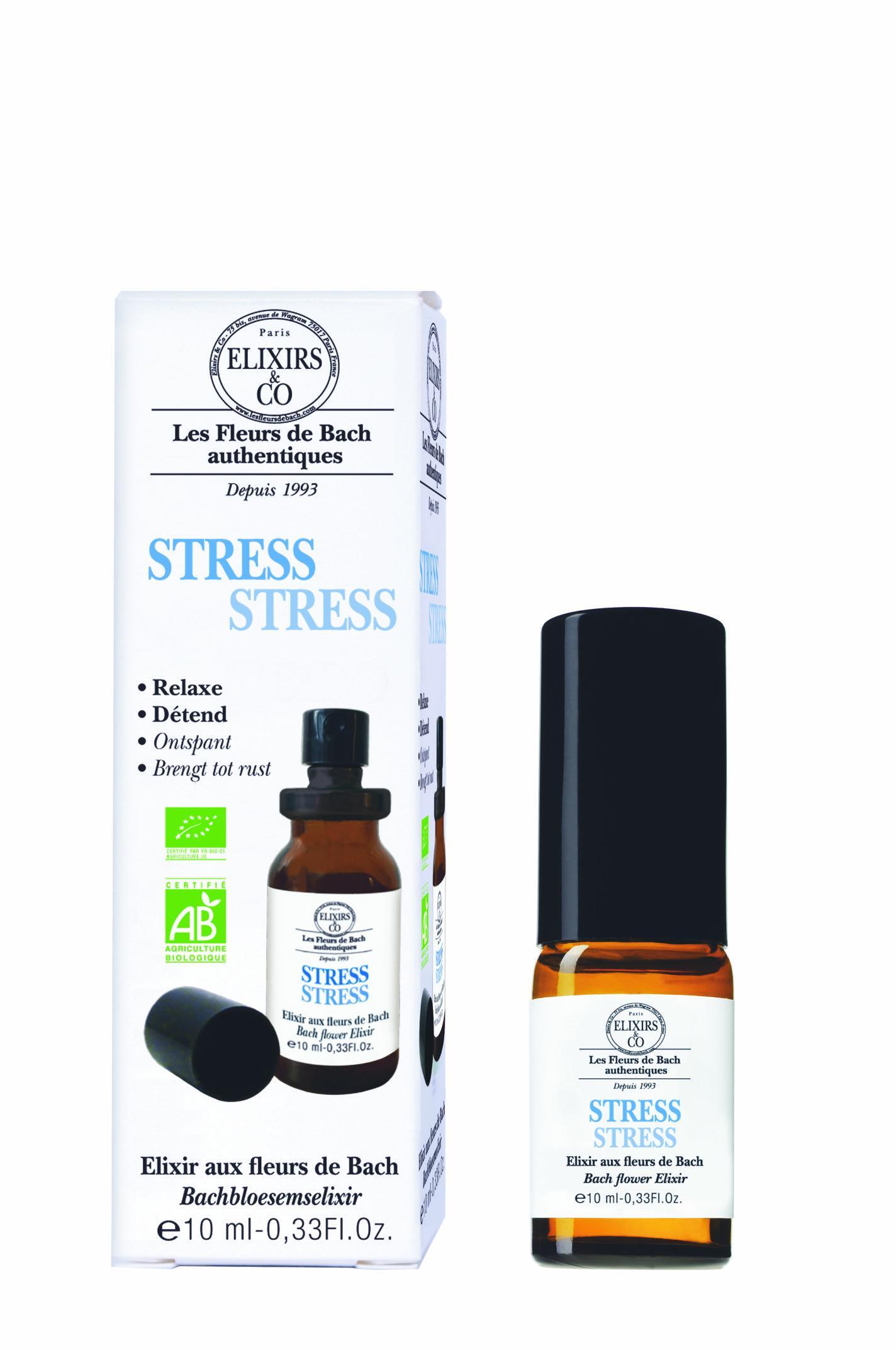 STRESS bio Spray Buccal aux Fleurs de Bach d'Elixirs&CO