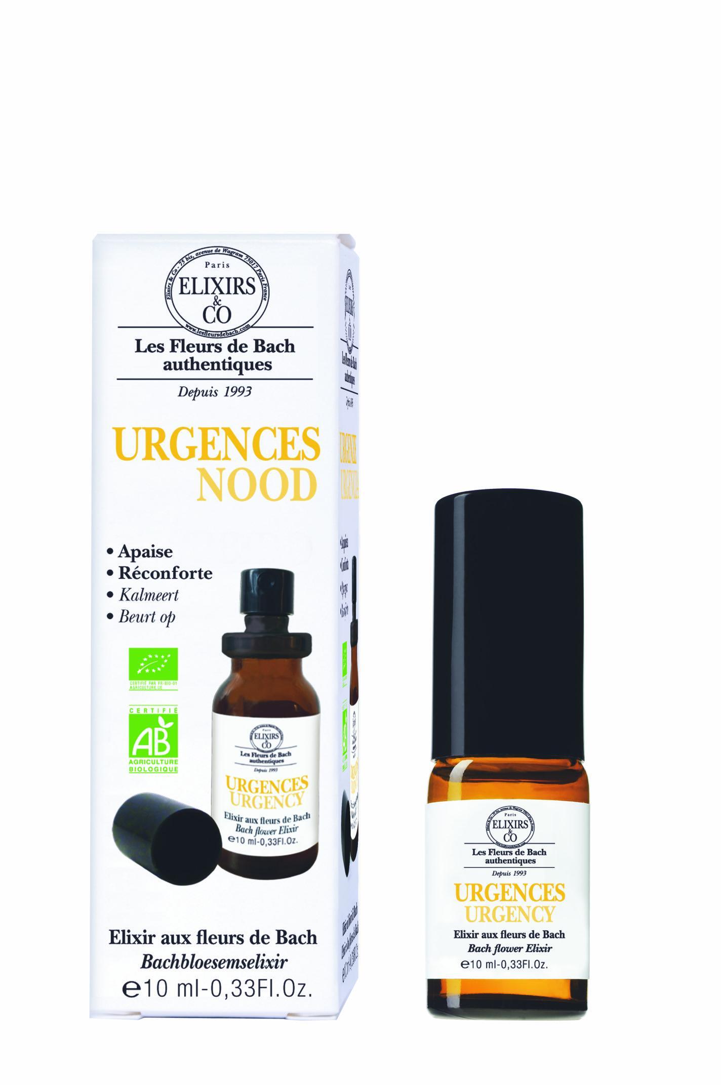 URGENCE bio spray buccal aux Fleurs de Bach d'Elixirs&Co
