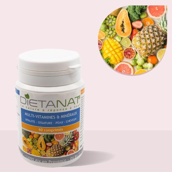 Multi-Vitamines & Minéraux en comprimés
