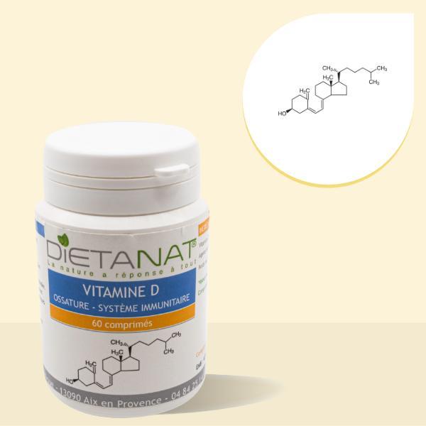 Vitamine D 5μg en comprimés