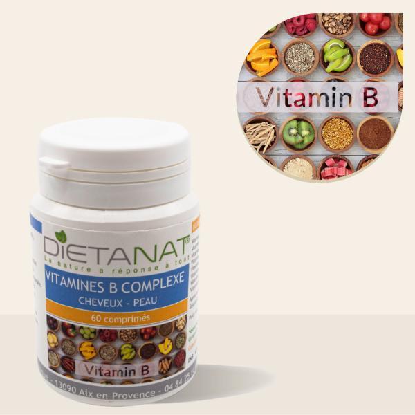 Vitamine B Complexe en comprimés