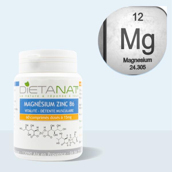 Zinc Magnésium & Vitamine B6 en comprimés