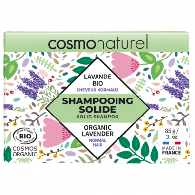 Shampoing Solide Cheveux Normaux Lavande bio 85g