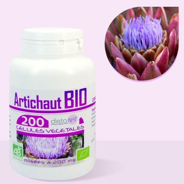 Artichaut bio - 200 Gélules végétales 200mg