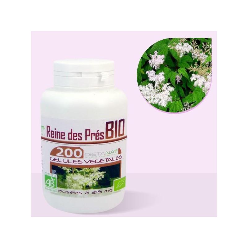 Reine des Prés bio - 200 Gélules de plantes 215mg