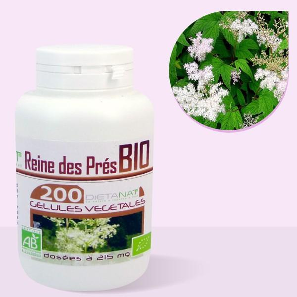 Reine des Prés bio - 200 Gélules végétales 215mg