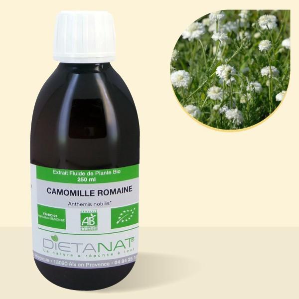 Camomille Romaine bio - 250ml Extrait de plantes fraiches bio