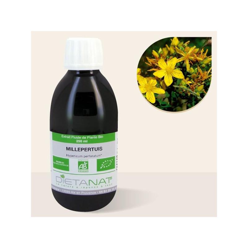 Millepertuis bio - 250ml Extrait de plantes fraiches bio de Dietanat