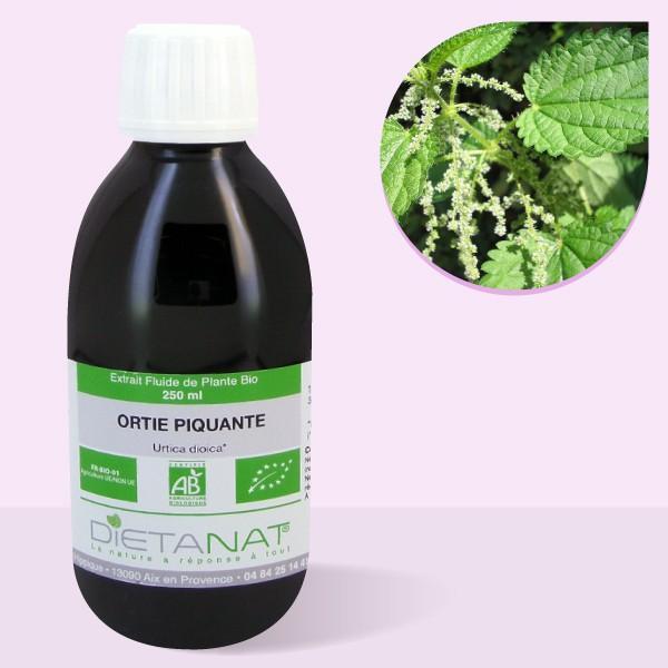 Ortie Piquante bio - 250ml Extrait de plantes fraiches bio