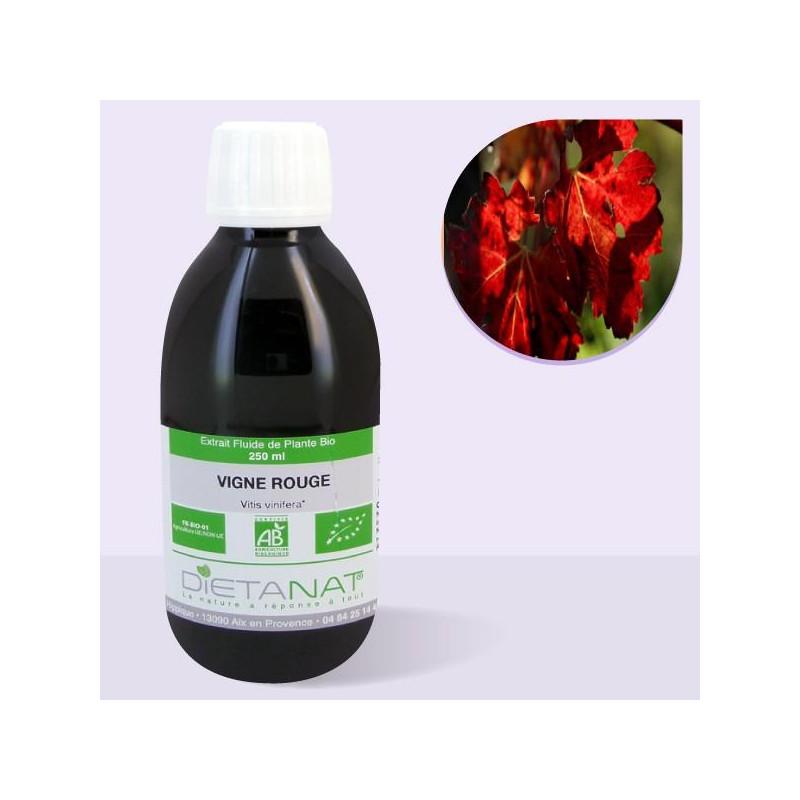 Vigne Rouge bio -250ml Extrait de plantes fraiches bio de Dietanat