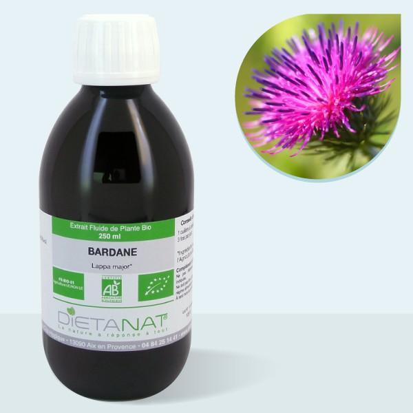 Bardane bio - 250ml Extrait de plantes fraiches bio