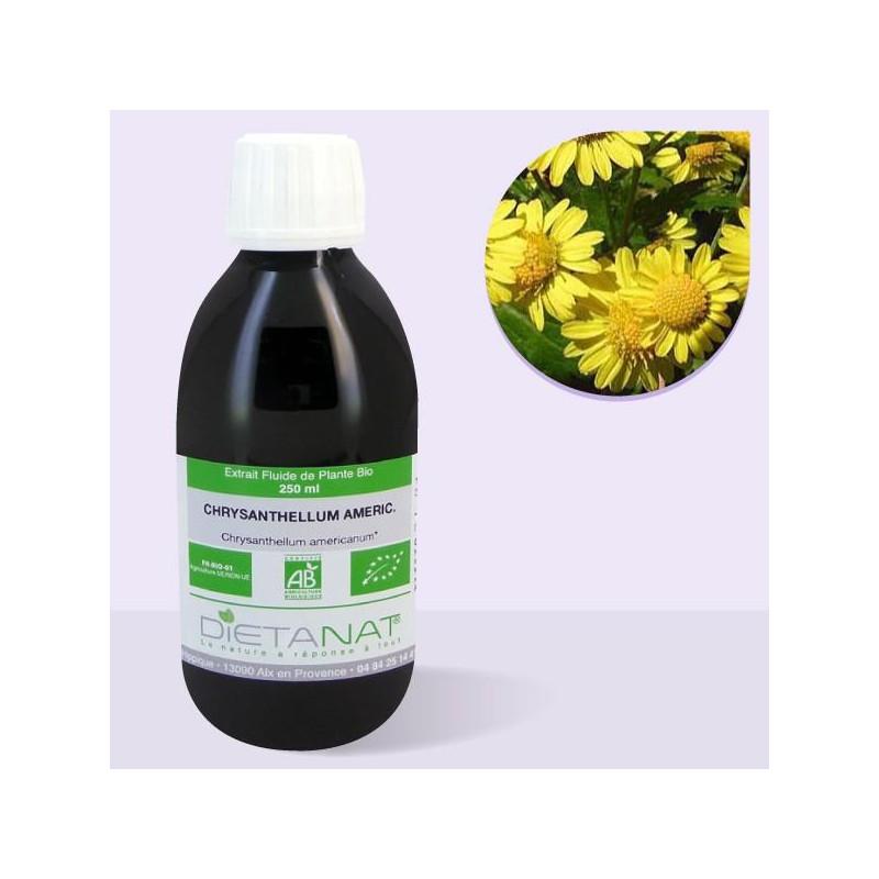 Chrysanthellum bio - 250ml Extrait de plantes fraiches bio de Dietanat
