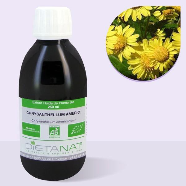 Chrysanthellum bio - 250ml Extrait de plantes fraiches bio
