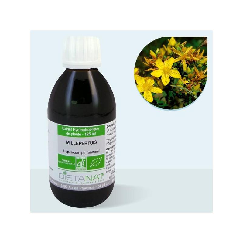 Millepertuis bio - 125ml Teinture mère bio