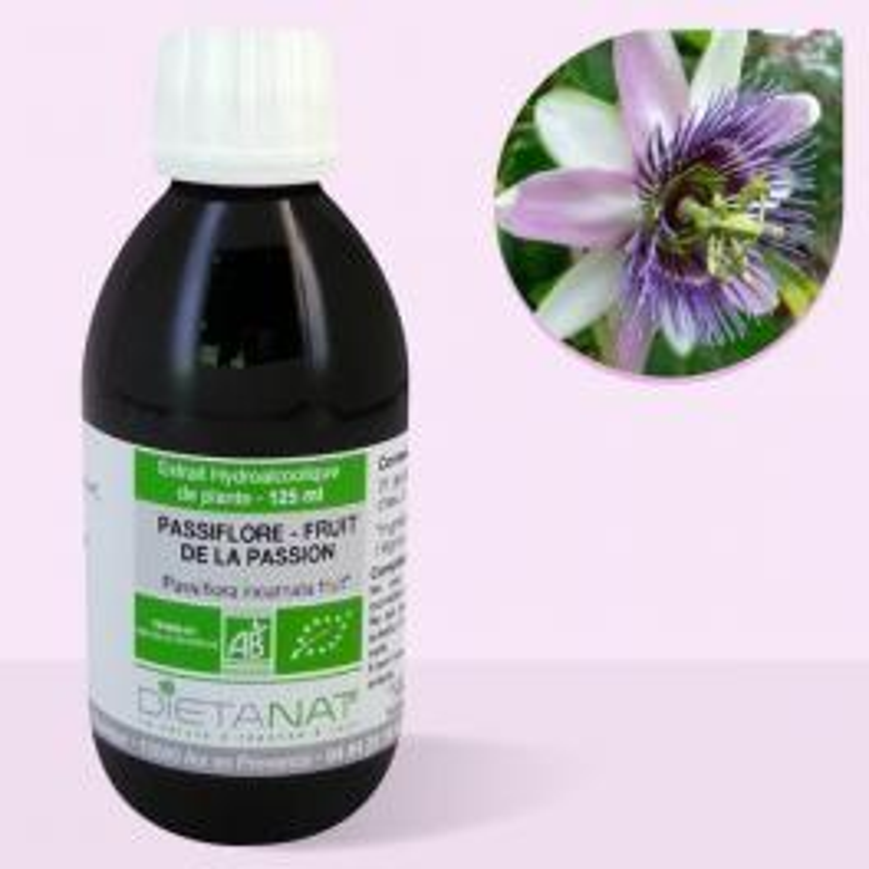 Passiflore bio - 125ml Teinture mère bio