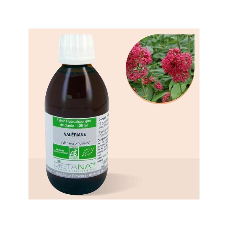 Valériane bio - 125ml Teinture mère bio