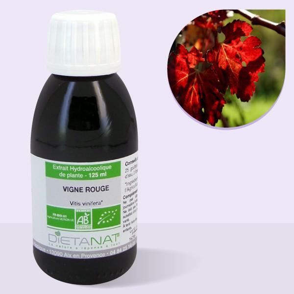 Vigne rouge bio - 125ml Teinture mère bio