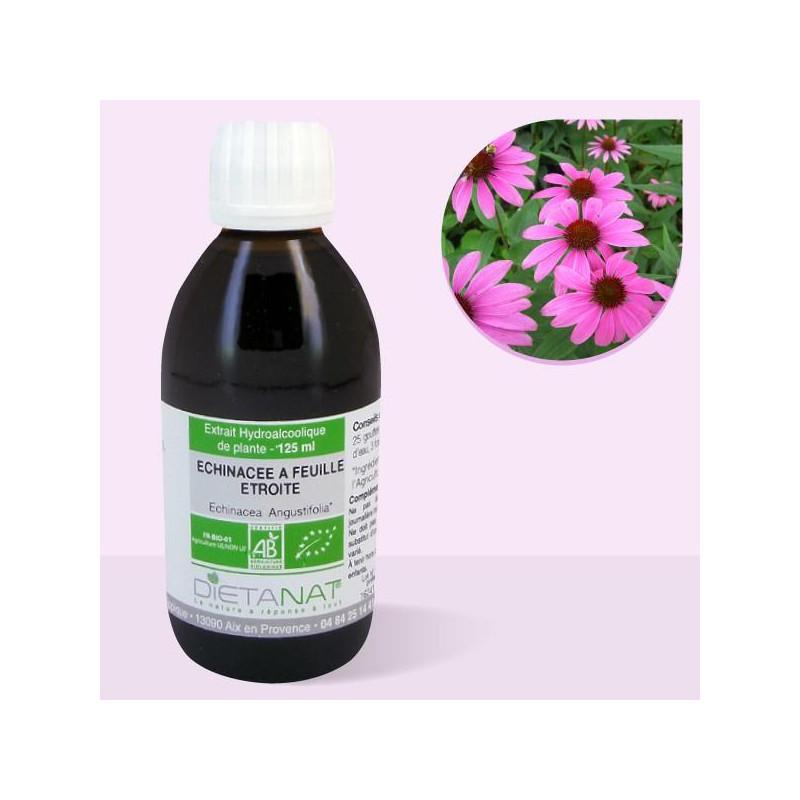 Echinacea Angustifolia-Purpurea bio - 125ml Teinture mère bio de Dietanat