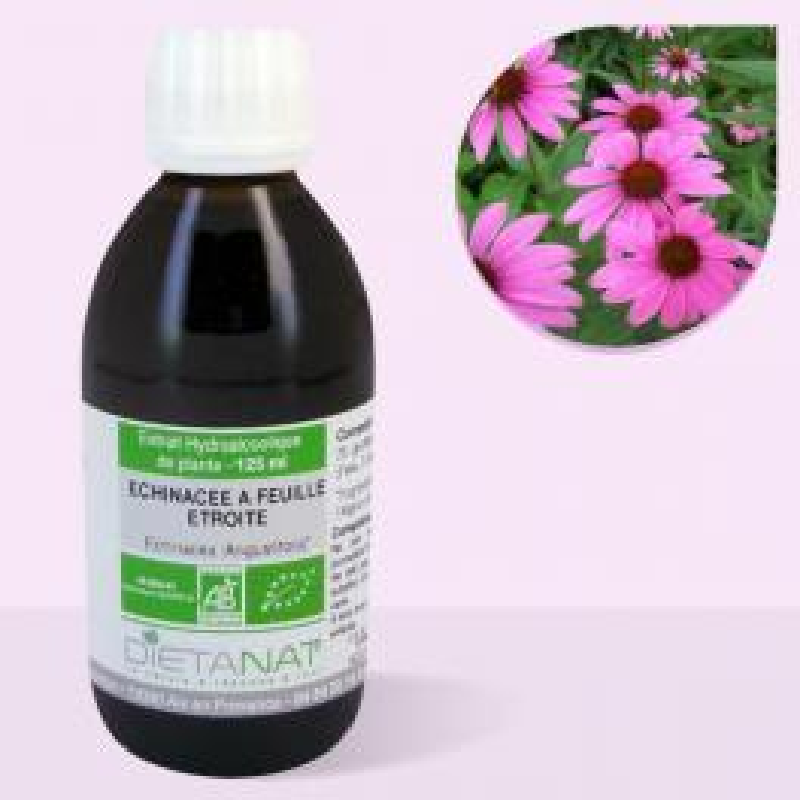 Echinacea Angustifolia-Purpurea bio - 125ml Teinture mère bio