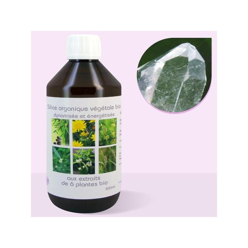 Silice bio végétale colloïdale - 500ml