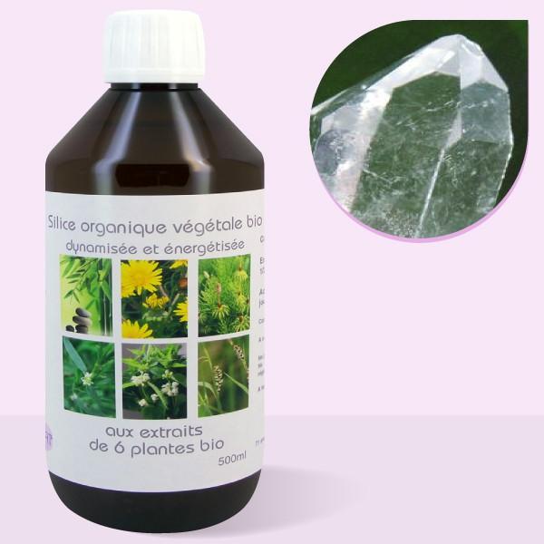 Silice bio végétale organique colloïdale - 500ml
