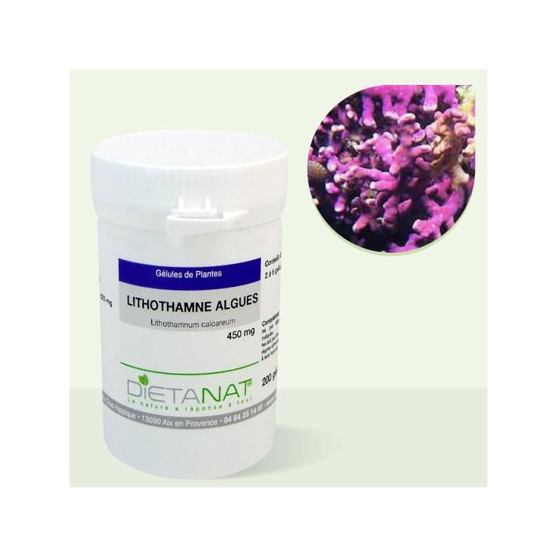 Lithothamne - 200 Gélules végétales 450mg de Dietanat