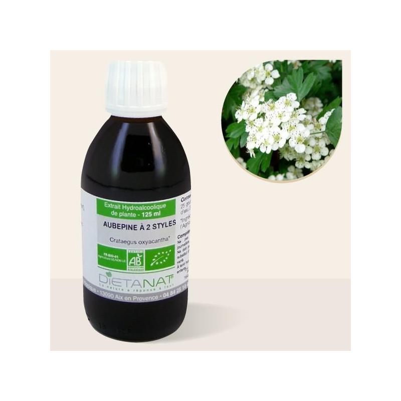 Aubépine bio - 125ml Teinture mère bio de Dietanat