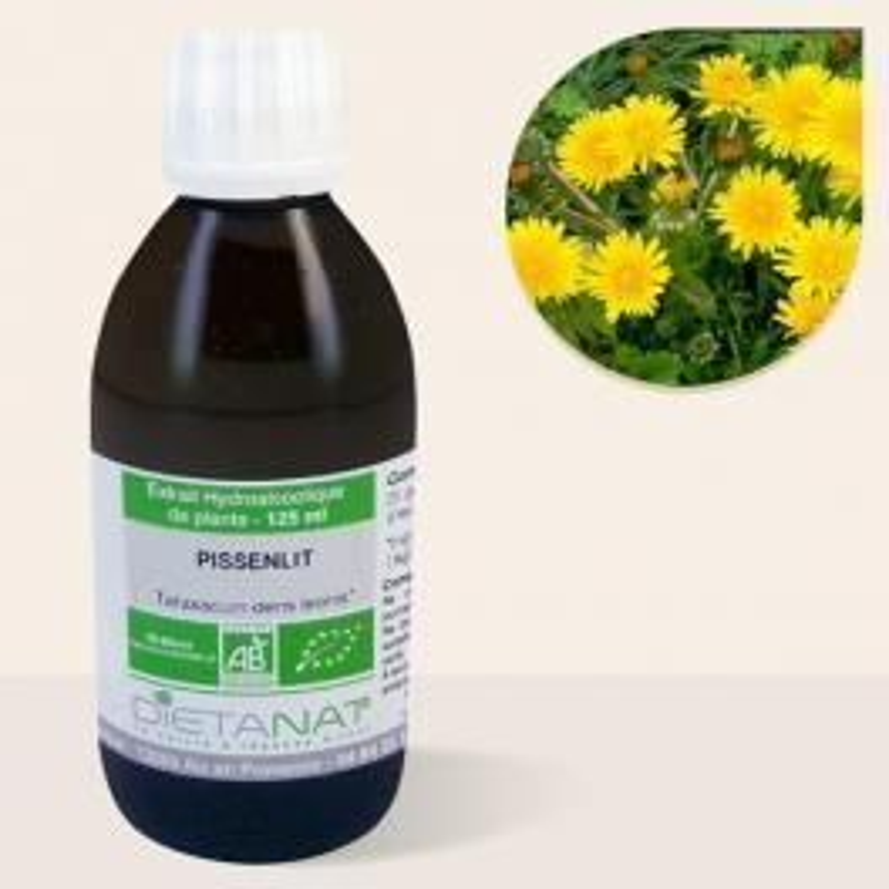 Pissenlit bio - 125ml Teinture mère bio