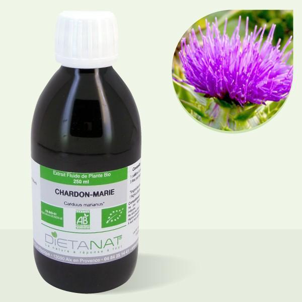 Chardon Marie bio - 250ml Extrait de plantes fraiches bio