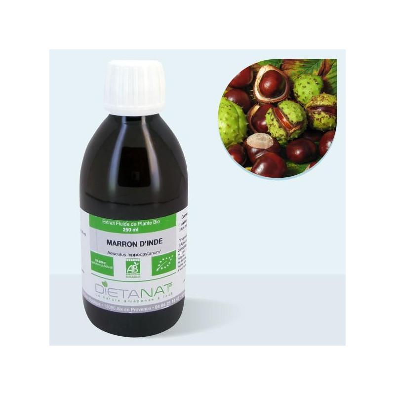 Marron d'Inde bio - 250ml Extrait de plantes fraiches bio