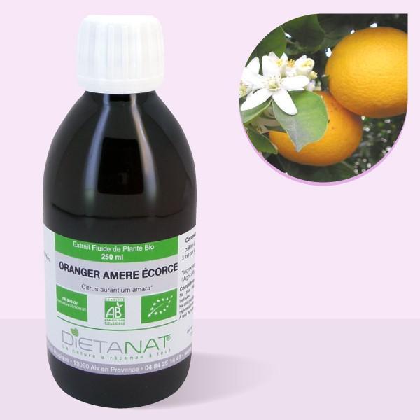 Oranger Amer bio - 250ml Extrait de plantes fraiches bio