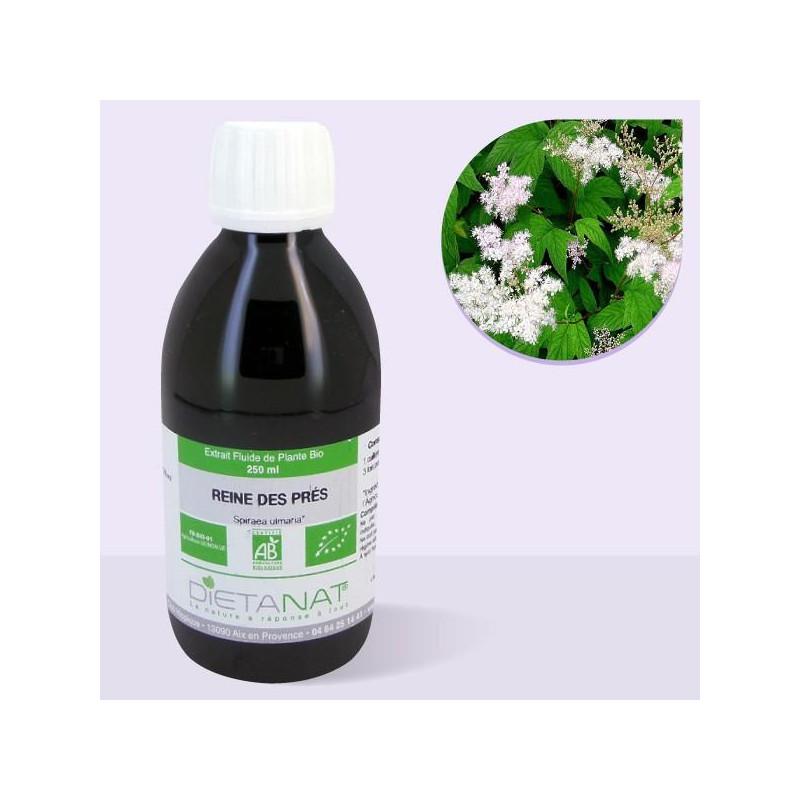 Reine des prés bio - 250ml Extrait de plantes fraiches bio