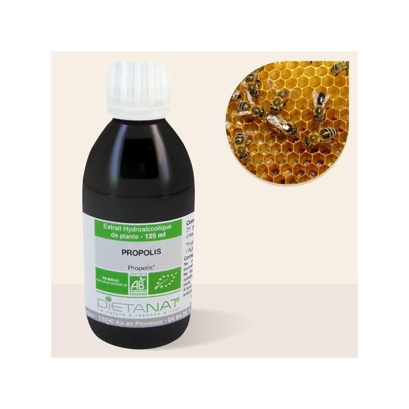 Propolis bio - 125ml  teinture mère bio