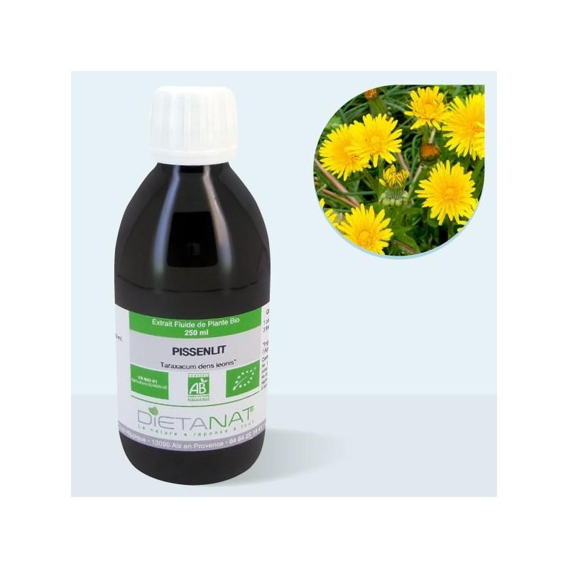 Pissenlit bio - 250ml Extrait de plantes fraiches bio