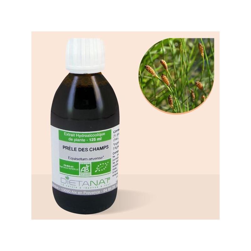 Prêle bio - 250ml Extrait de plantes fraiches bio