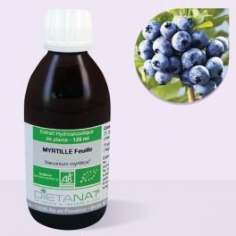 Myrtille bio - 125ml Teinture mère bio