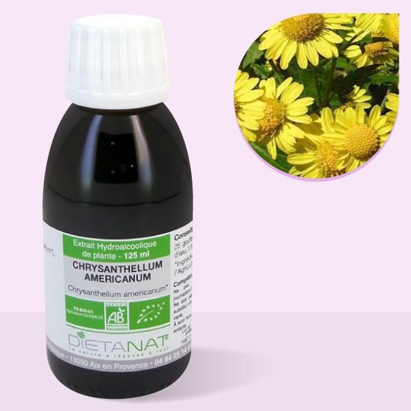 Chrysanthellum Americanum bio - 125ml Teinture mère