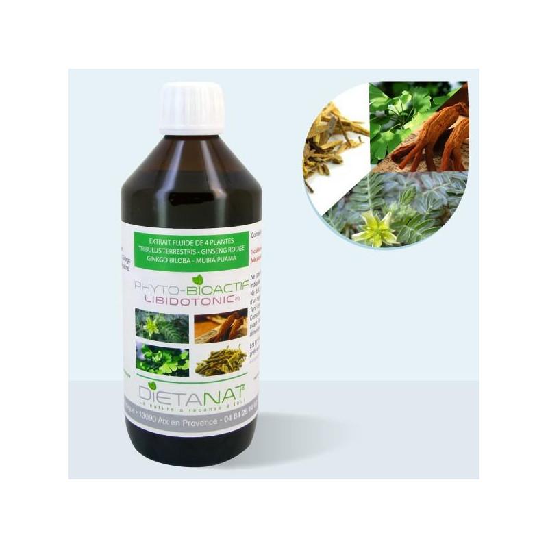 Complexe LibidoTonic ® - 500ml Extrait de plantes fraiches