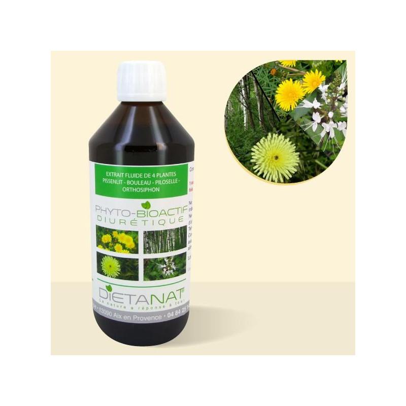Complexe Diurétique - 500ml Extrait de plantes fraiches