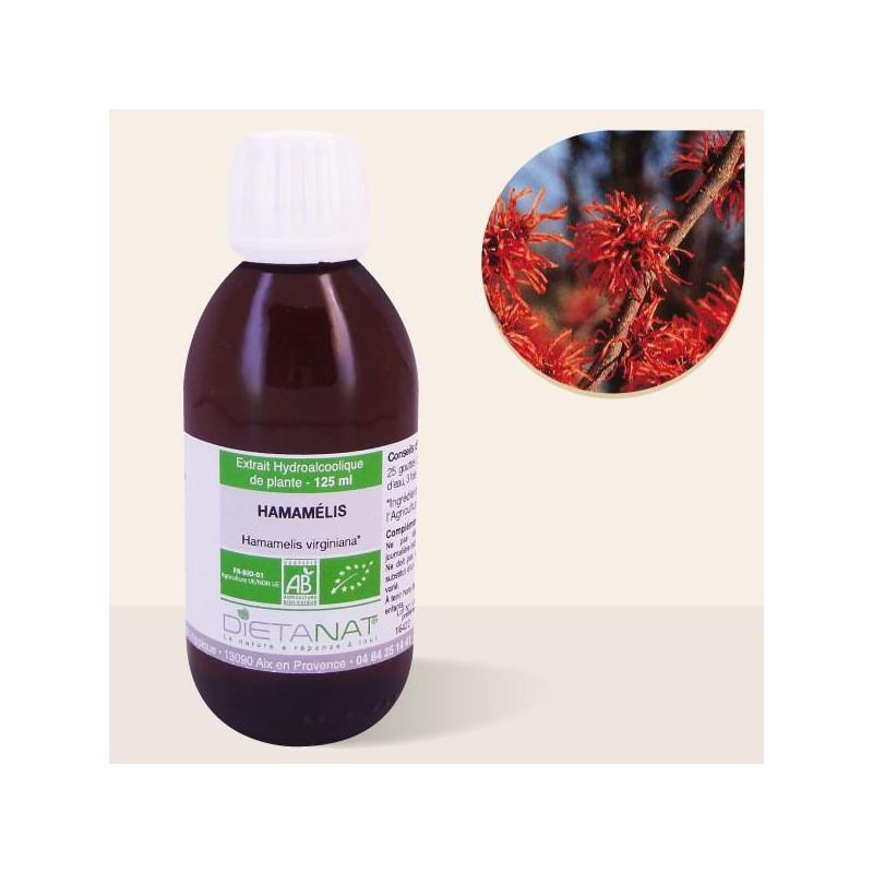 Hamamelis Virginiana bio - 125ml Teinture mère bio de Dietanat