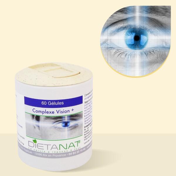 Complexe Vision + - 60 gélules végétales 425mg